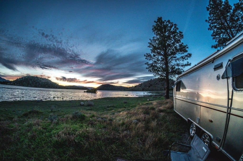 airstream, trailer, rv